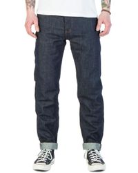 The Unbranded Brand - Unbranded Ub601 Relaxed Tapered Fit Indigo Selvedge 14.5oz - Lyst