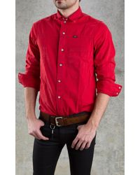 April77 - Records Devo Club Shirt Red - Lyst