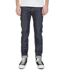 Naked & Famous - Super Guy Dirty Fade Selvedge 14.5oz - Lyst