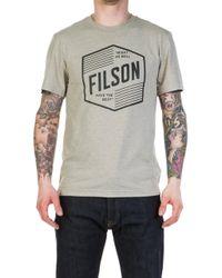 Filson - Buckshot Shirt Sandstone - Lyst