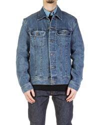 A.P.C. - Denim Jacket - Lyst