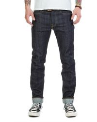 Edwin - Ed-80 Red Listed Selvage Indigo Unwashed 14oz - Lyst
