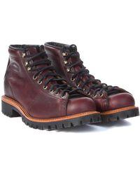 "Chippewa Boots - Chippewa 5"" Lace-to-toe Field Boot Cordovan - Lyst"