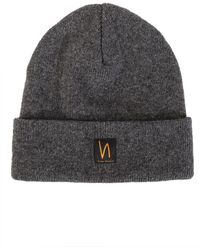 c72ee8e253e Lyst - Nudie Jeans Co. Liamsson Beanie Black in Black for Men