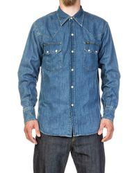 Lee Jeans - Western Denim Shirt Aged Wash - Lyst