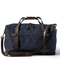 Filson - Medium Rugged Twill Duffle Navy - Lyst