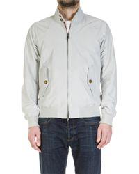 Baracuta - G9 Modern Classic Harrington Jacket Mist - Lyst