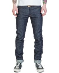 A.P.C. - Petit New Standard Indigo Red Selvage 14.5oz - Lyst