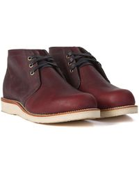 Chippewa Boots - Chippewa 1955 Original Modern Suburban Burgundy - Lyst
