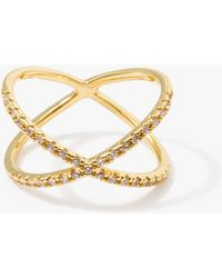 Tai - Criss-crossed Ring - Lyst