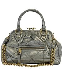 Lyst - Gucci Silver Leather Indy Hobo in Metallic b6d7d3528355e