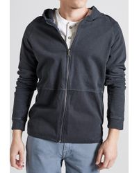 Current/Elliott - Repaired Zip Hoodie - Lyst