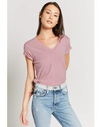 Current/Elliott - The V-neck Tee - Lyst