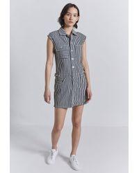 Current/Elliott - The Sleeveless Jumpsuit Dress - Lyst