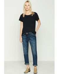 Current/Elliott - The X Hatch New Boyfriend Maternity Jean - Lyst