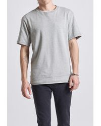 Current/Elliott - Short Sleeve Sweatshirt - Lyst