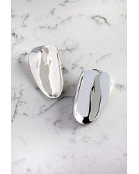 Cushnie et Ochs - Silver Long Phoena Earrings - Lyst