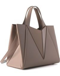 Cushnie et Ochs - Taupe Large James Satchel - Lyst