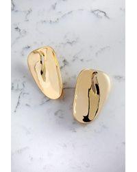 Cushnie et Ochs - Gold Long Phoena Earrings - Lyst
