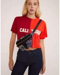 Cynthia Rowley - Embroidered Cropped Caliyork T-shirt - Lyst