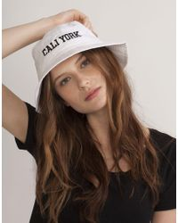 Cynthia Rowley - Caliyork Bucket Hat - Lyst