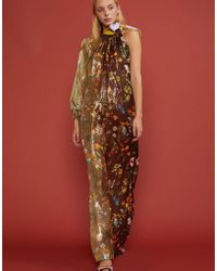 Cynthia Rowley - Offshore Garden Floral One Sleeve Dress - Lyst