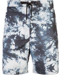 Cynthia Rowley - New School Printed Board Short - Lyst
