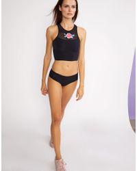 Cynthia Rowley - Cassie High Neck Bikini Top - Lyst