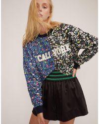Cynthia Rowley - #crxbandier Caliyork Floral Crop Sweatshirt - Lyst