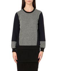 5cm - Mesh-hem Jersey Sweatshirt - Lyst