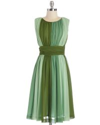 ModCloth Evolution Of Elegance Dress in Green - Lyst