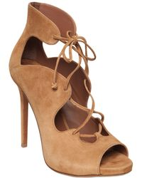 Tabitha Simmons | 110mm Reed Suede Lace-up Boots | Lyst