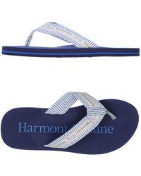 Harmont & Blaine - Thong Sandal - Lyst