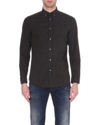 Diesel S-Kinop Regular-Fit Striped Shirt - For Men - Lyst