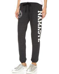 Spiritual Gangster | Namaste Sweatpants - Vintage Black | Lyst