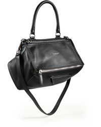 Givenchy   Pandora Medium Studded Leather Shoulder Bag   Lyst