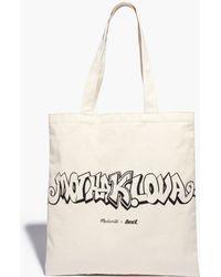 Madewell | X Daryl K® Reusable Mothalova Canvas Tote Bag | Lyst