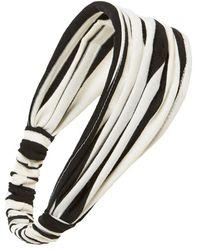 Cara | Stripe Head Wrap | Lyst