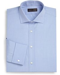 Ralph Lauren Black Label Bond French Cuff Dress Shirt - Lyst