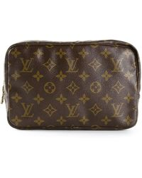 Louis Vuitton Monogram Trousse 23 Cosmetic Bag - Lyst