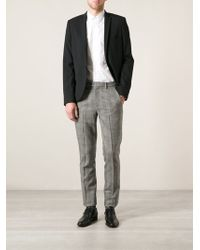 Ermanno Scervino Checked Trousers - Lyst