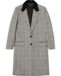 Rag & Bone Wooster Wool And Cotton-Blend Coat - Lyst