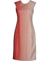 Missoni Knee Length Dress - Lyst