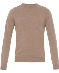 Esk - Jute V-neck Cashmere Sweater - Lyst