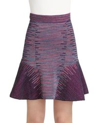 M Missoni Spacedyed Knit Skirt - Lyst