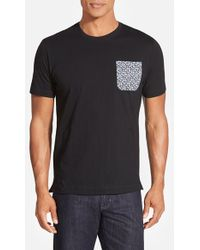 Robert Graham 'Mini Skulls' Print Pocket T-Shirt - Lyst