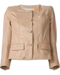 S.W.O.R.D Collarless Jacket - Lyst