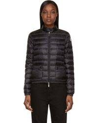 Moncler Black Quilted Down Lans Jacket - Lyst