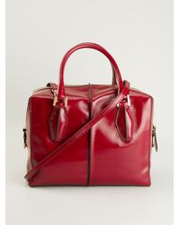 Tod's Dcube Tote - Lyst