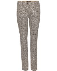 Etro Printed Wool Trousers multicolor - Lyst